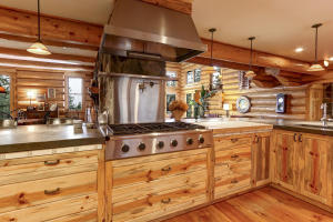 kitchen stove -cabinets