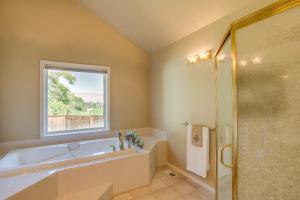 Step-in shower & soak tub