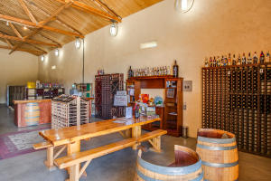 Tasting room if you choose