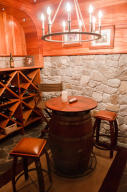 wine cave table