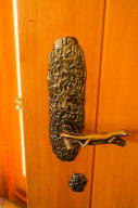 Entry interior door handle