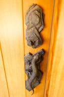 Entry exterior door handle