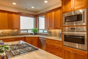 CHERRY CABINETS THROUGHOUT
