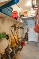 Storage off Garage