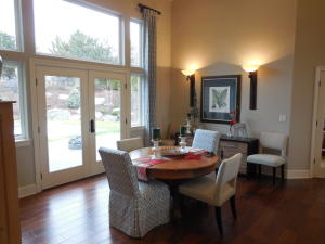 Dining Area / French Doors to Patio/Pool