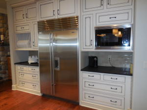 SubZero Side-by-Side / Cabinets