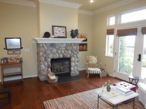 Gas Fireplace - Living Room / Apartment