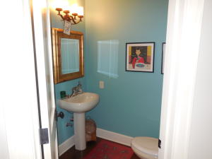 Powder Room Off Main Entry