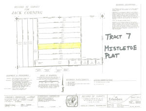 Tract 7 plat map photo
