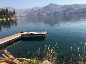 Private cove on Lake Chelan