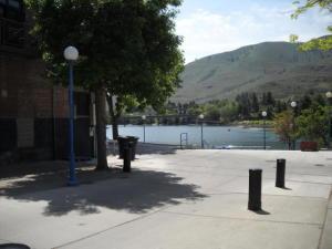 Walkway to Lake