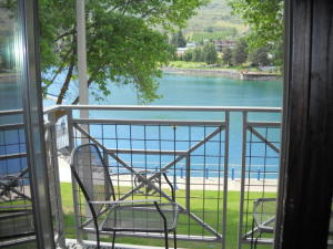 View of Lake from Balcony