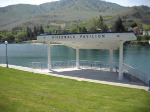 Riverwalk Pavilion out Back