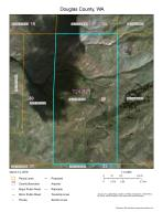 Aerial Photo map of Johnson 320 acres