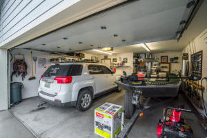 Inside of Garage