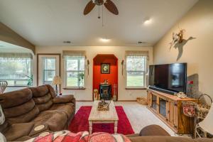 Living Room & Pellet Stove