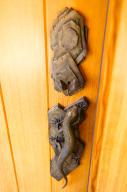 Entry exterior door handle