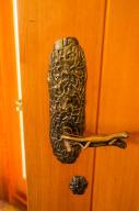 Entry interior door handle