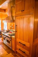 Kitchen fridge-stove