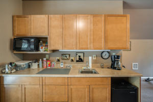 Kitchen in Apartment above Shop