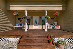 Covered Porch & Entrance