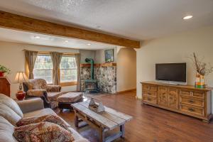 Living Room & Woodstove