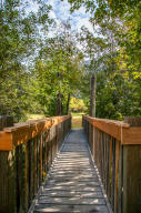 Bridge to Private Beach