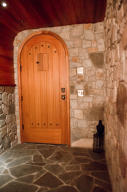 wine cave door interior