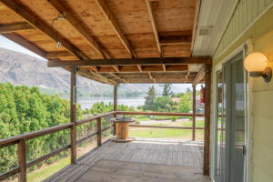 Covered Deck & River View