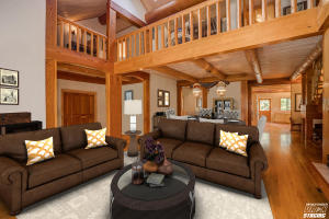 Living Room-Virtual Staged