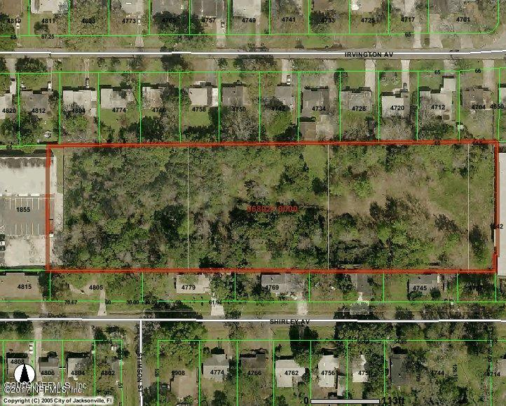 4737 SHIRLEY, JACKSONVILLE, FLORIDA 32210, ,Vacant land,For sale,SHIRLEY,884388