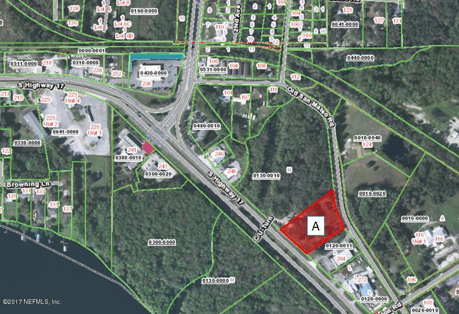 PART A HIGHWAY 17, EAST PALATKA, FLORIDA 32131, ,Vacant land,For sale,HIGHWAY 17,878632