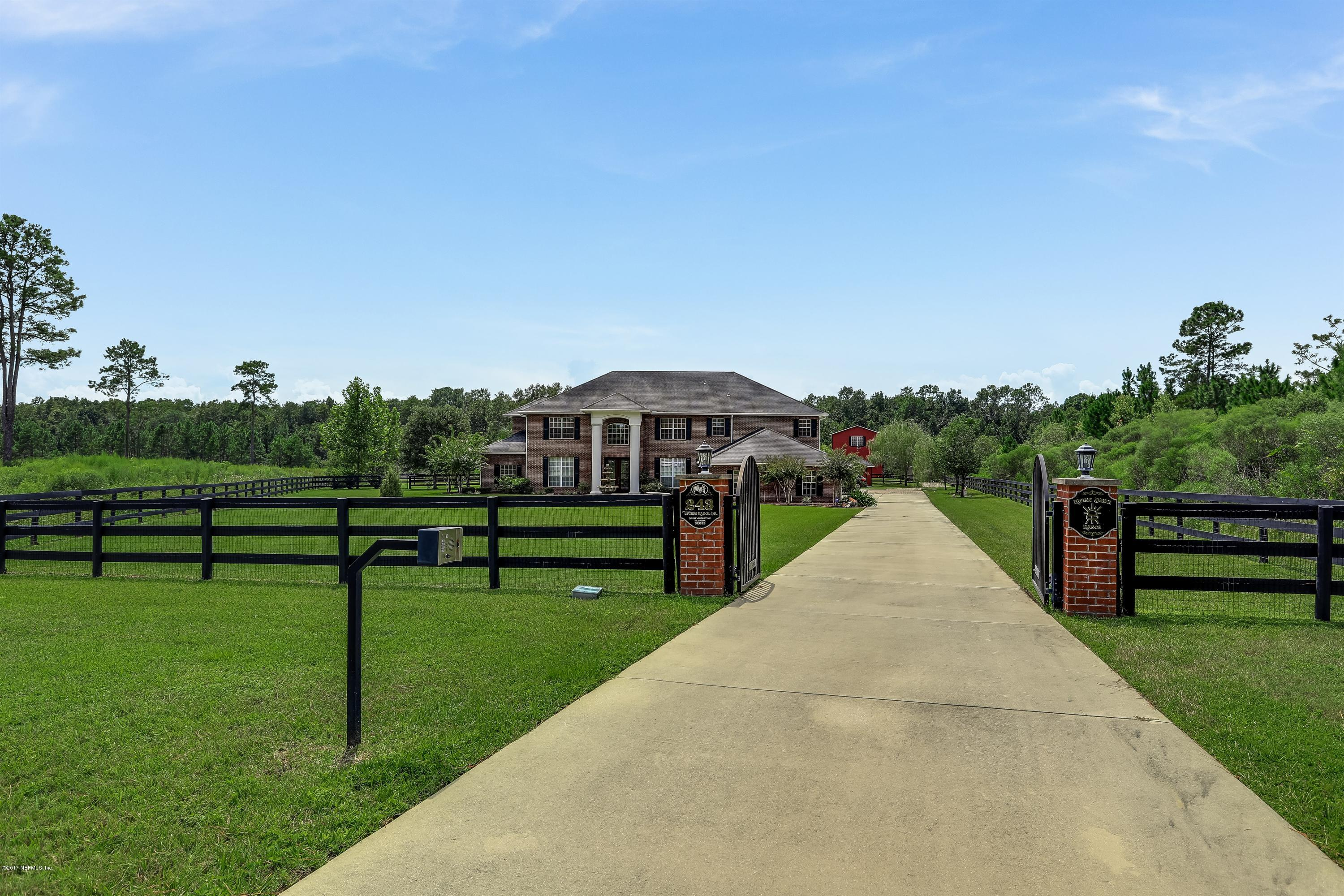 243 TOWERS RANCH DR, ST AUGUSTINE, FL 32092