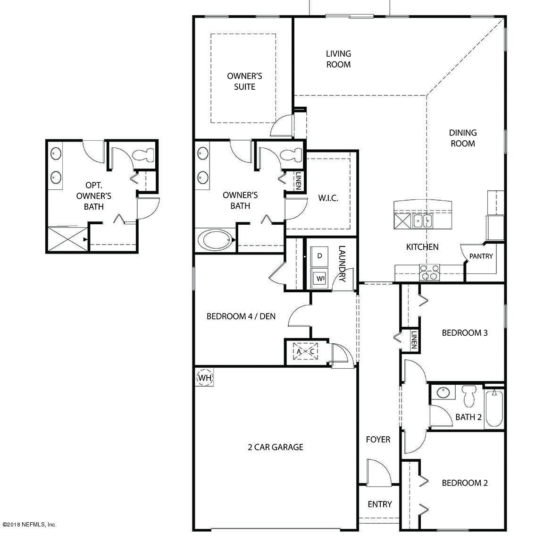 7075 SANDLE, JACKSONVILLE, FLORIDA 32219, 4 Bedrooms Bedrooms, ,2 BathroomsBathrooms,Residential - single family,For sale,SANDLE,920983