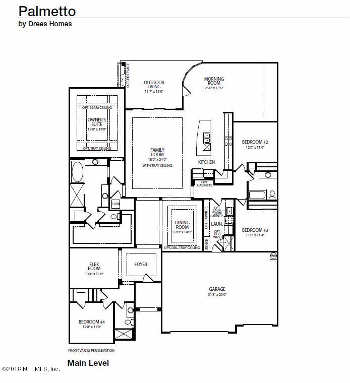 2920 OAK GROVE, ST AUGUSTINE, FLORIDA 32092, 4 Bedrooms Bedrooms, ,3 BathroomsBathrooms,Residential - single family,For sale,OAK GROVE,927201