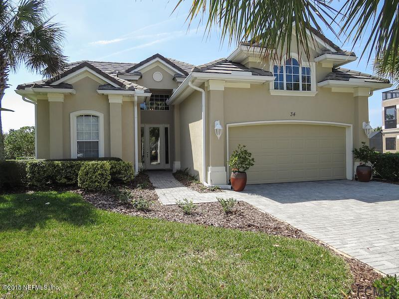 34 SANDPIPER, PALM COAST, FLORIDA 32137, 5 Bedrooms Bedrooms, ,3 BathroomsBathrooms,Residential - single family,For sale,SANDPIPER,936192