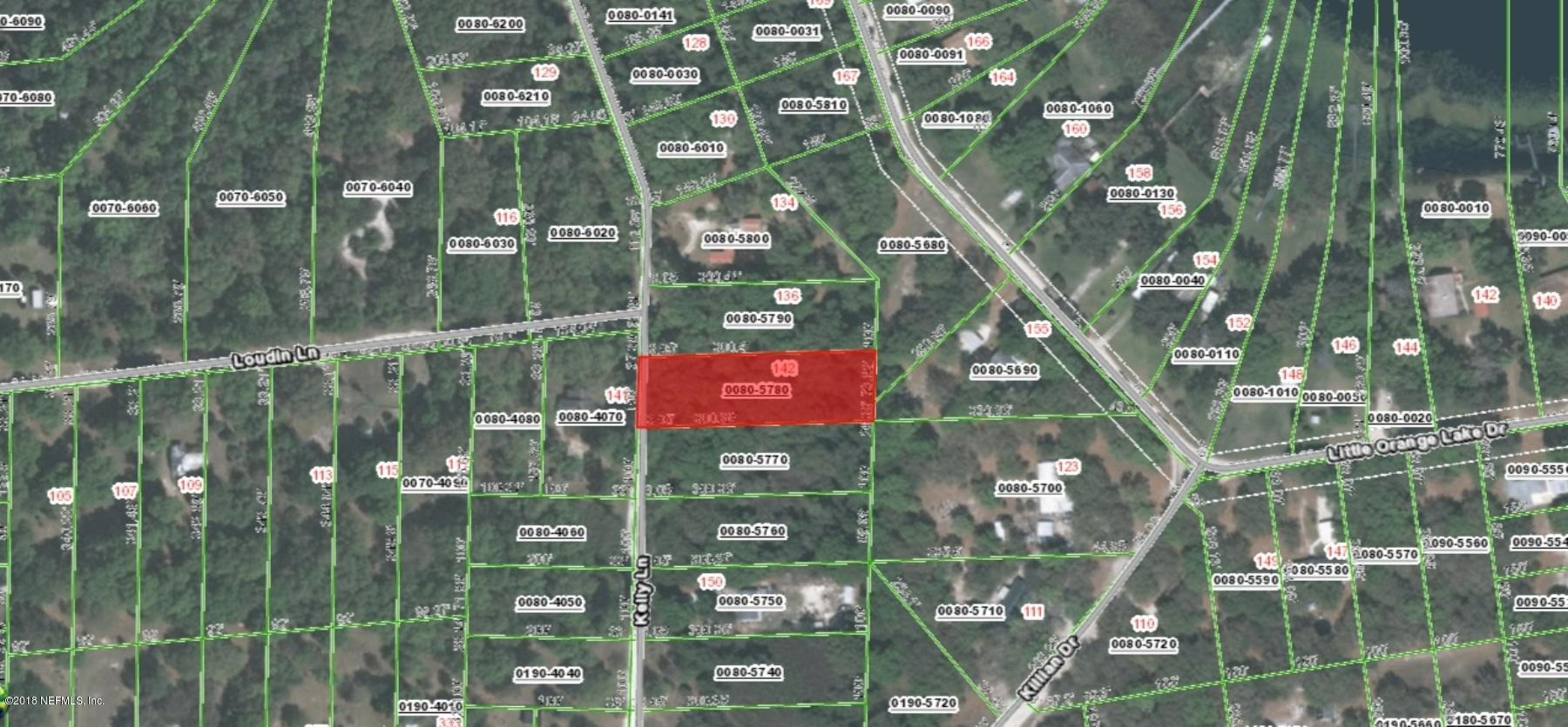 142 KELLY, HAWTHORNE, FLORIDA 32640, ,Vacant land,For sale,KELLY,936530