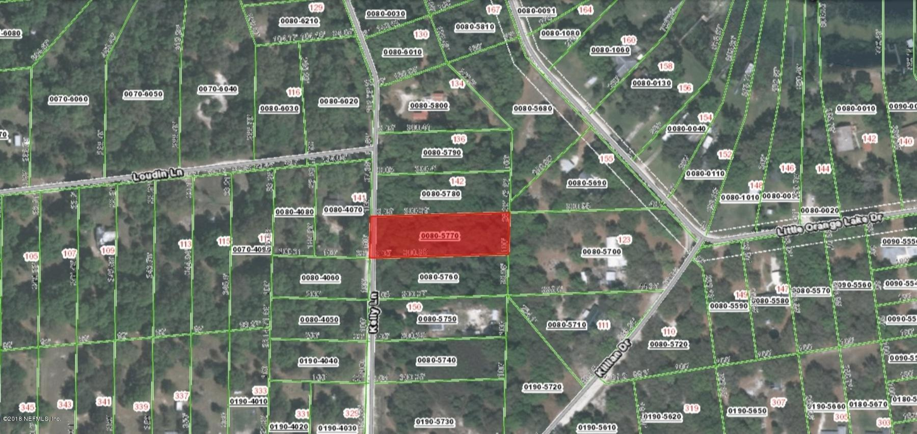 000 KELLY, HAWTHORNE, FLORIDA 32640, ,Vacant land,For sale,KELLY,936531