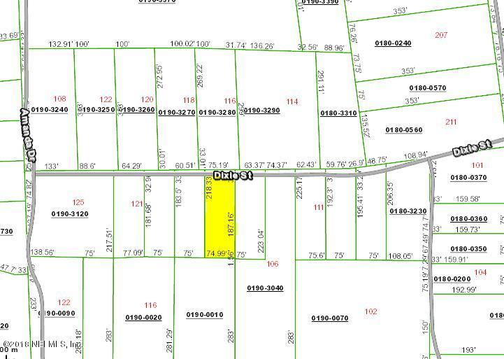 000 DIXIE, HAWTHORNE, FLORIDA 32640, ,Vacant land,For sale,DIXIE,936581