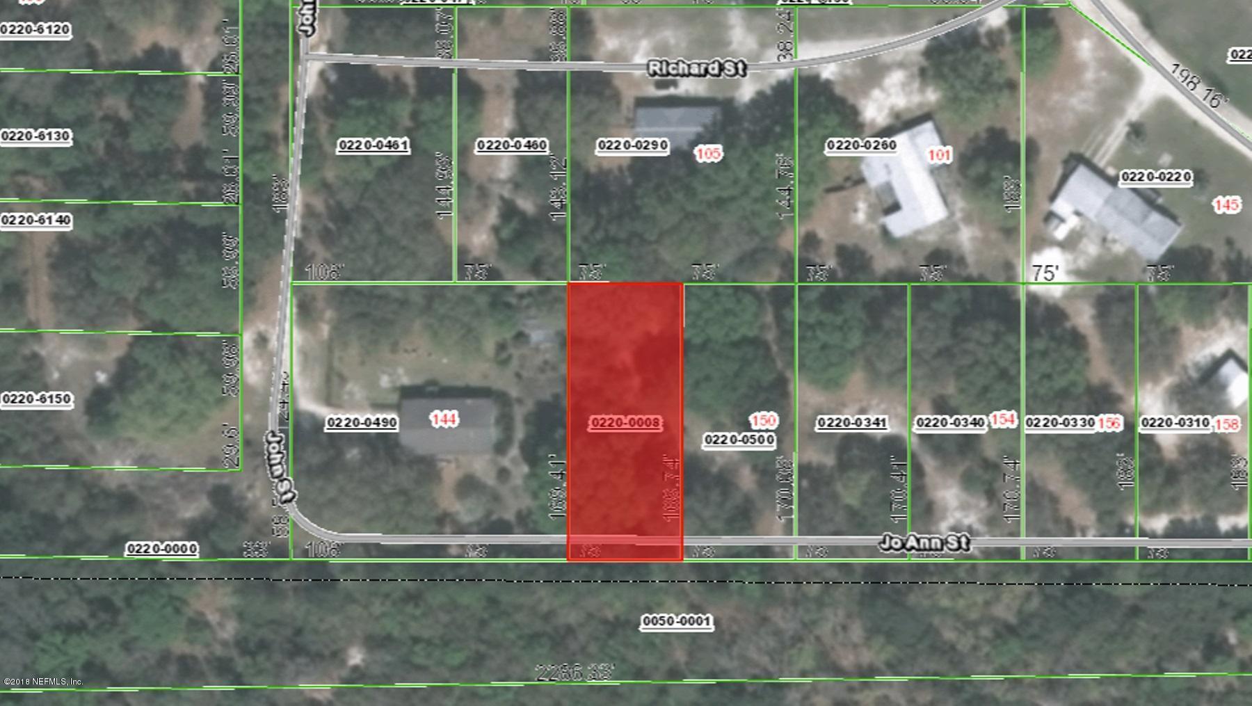 000 JO ANN, HAWTHORNE, FLORIDA 32640, ,Vacant land,For sale,JO ANN,936701