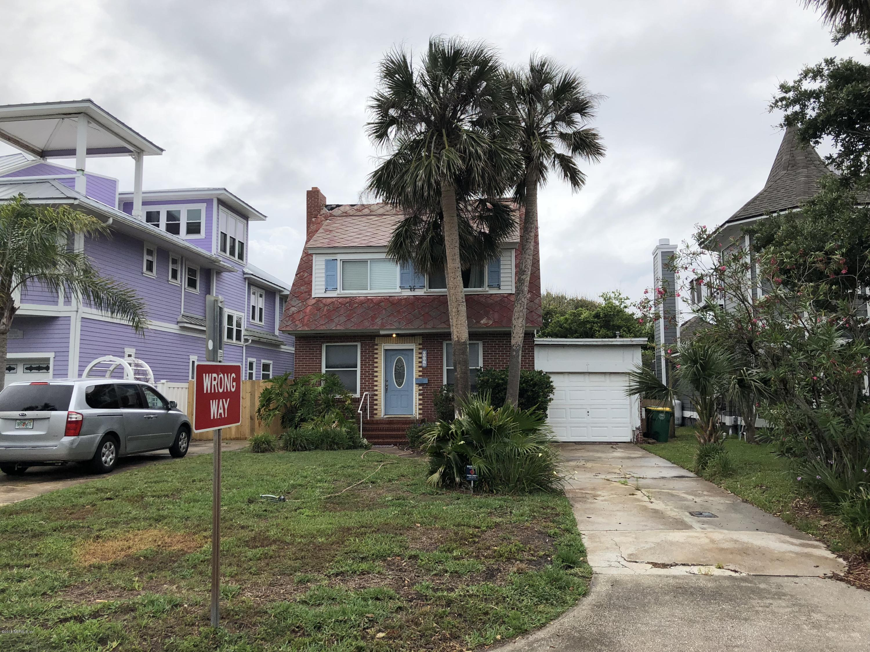 3516 1ST, JACKSONVILLE BEACH, FLORIDA 32250, 2 Bedrooms Bedrooms, ,1 BathroomBathrooms,Residential - single family,For sale,1ST,936925