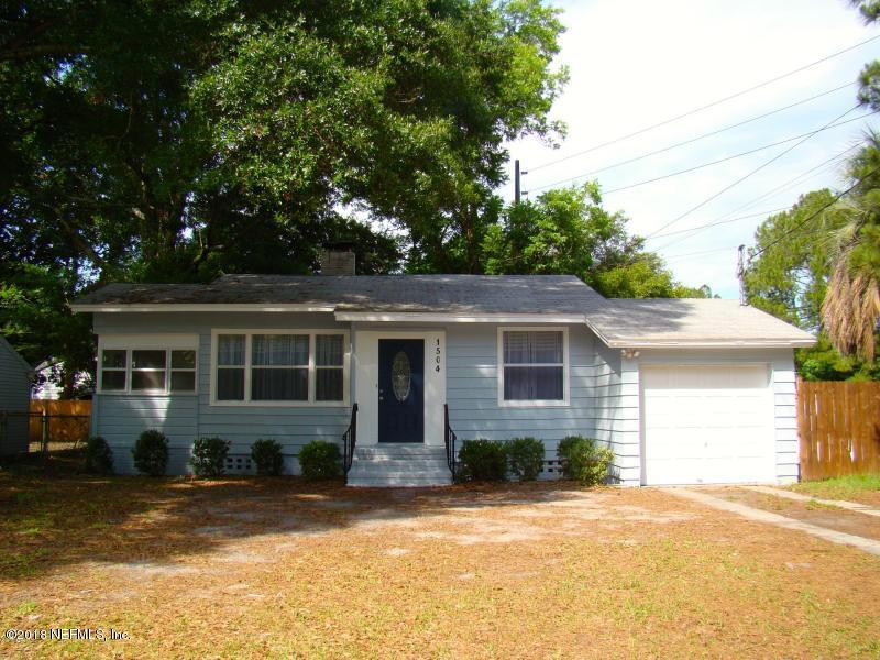 1504 CHARON, JACKSONVILLE, FLORIDA 32205, 3 Bedrooms Bedrooms, ,1 BathroomBathrooms,Residential - single family,For sale,CHARON,943680