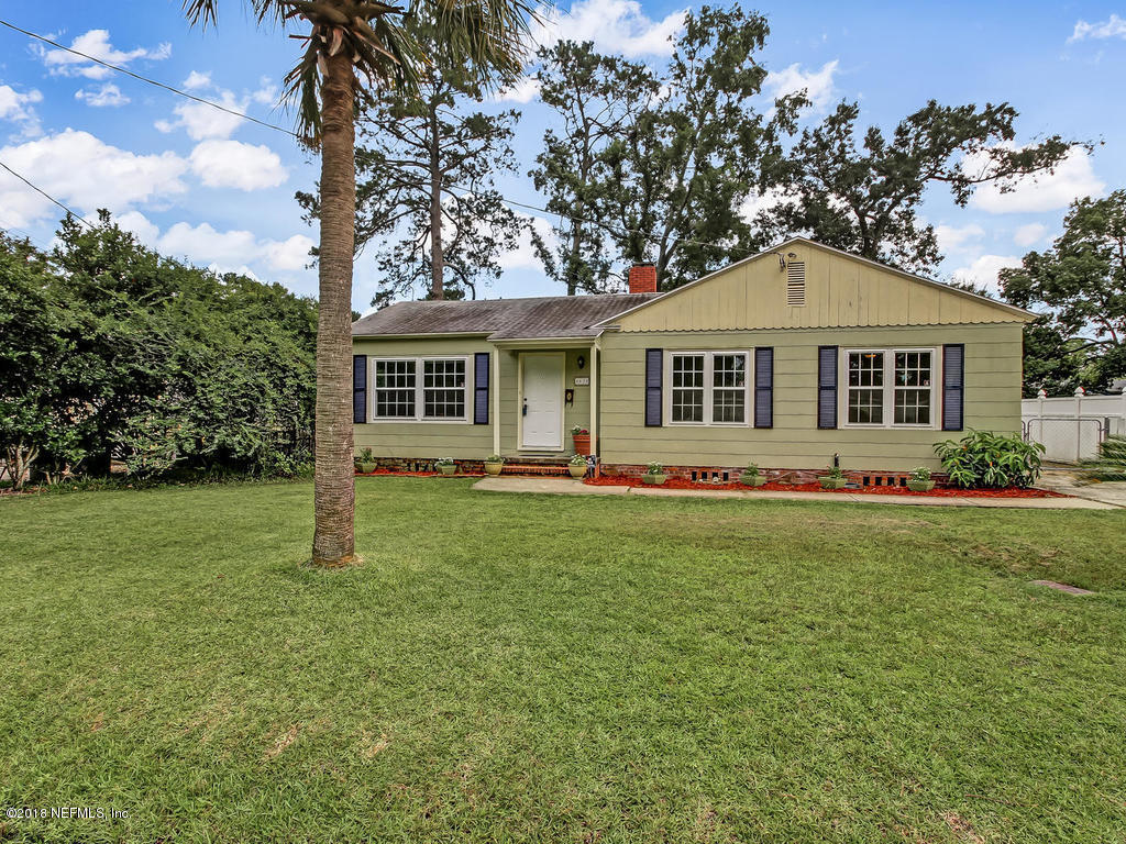 4630 SUSSEX, JACKSONVILLE, FLORIDA 32210, 3 Bedrooms Bedrooms, ,1 BathroomBathrooms,Residential - single family,For sale,SUSSEX,946797