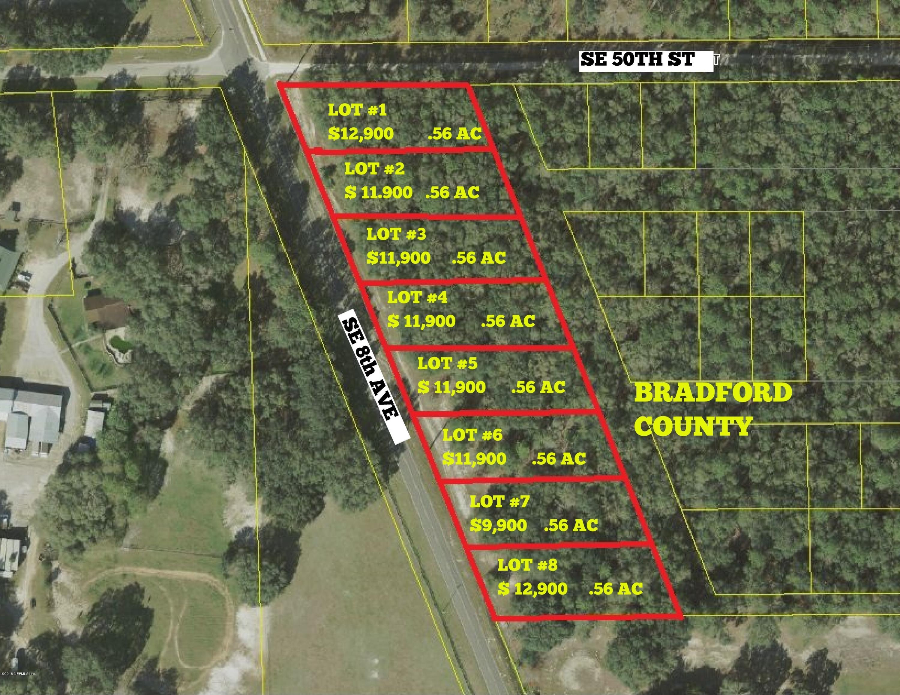 LOT # 1 21B / SE 8TH, KEYSTONE HEIGHTS, FLORIDA 32656, ,Vacant land,For sale,21B / SE 8TH,873602