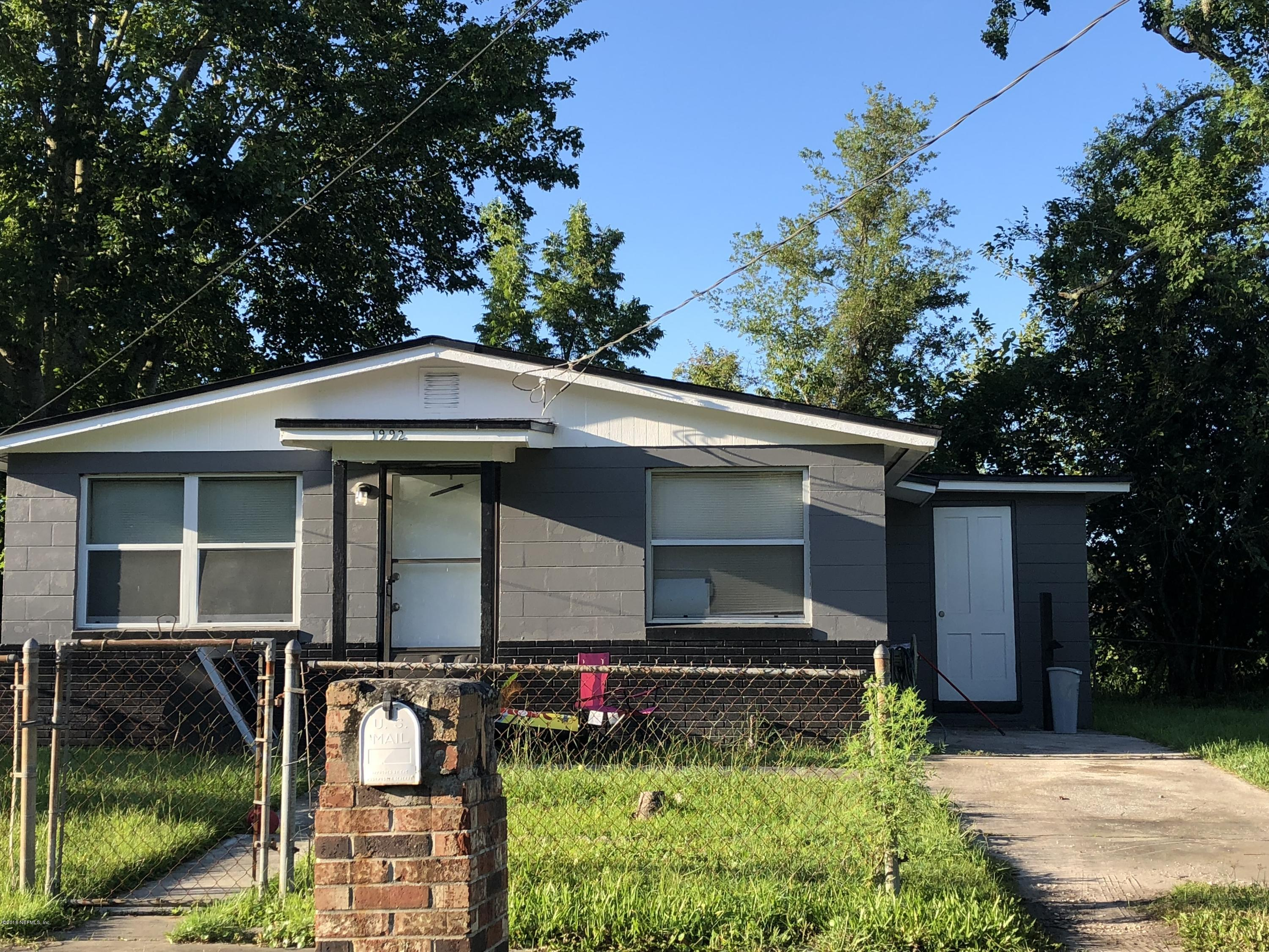 1992 3RD, JACKSONVILLE, FLORIDA 32209, 3 Bedrooms Bedrooms, ,1 BathroomBathrooms,Residential - single family,For sale,3RD,950315