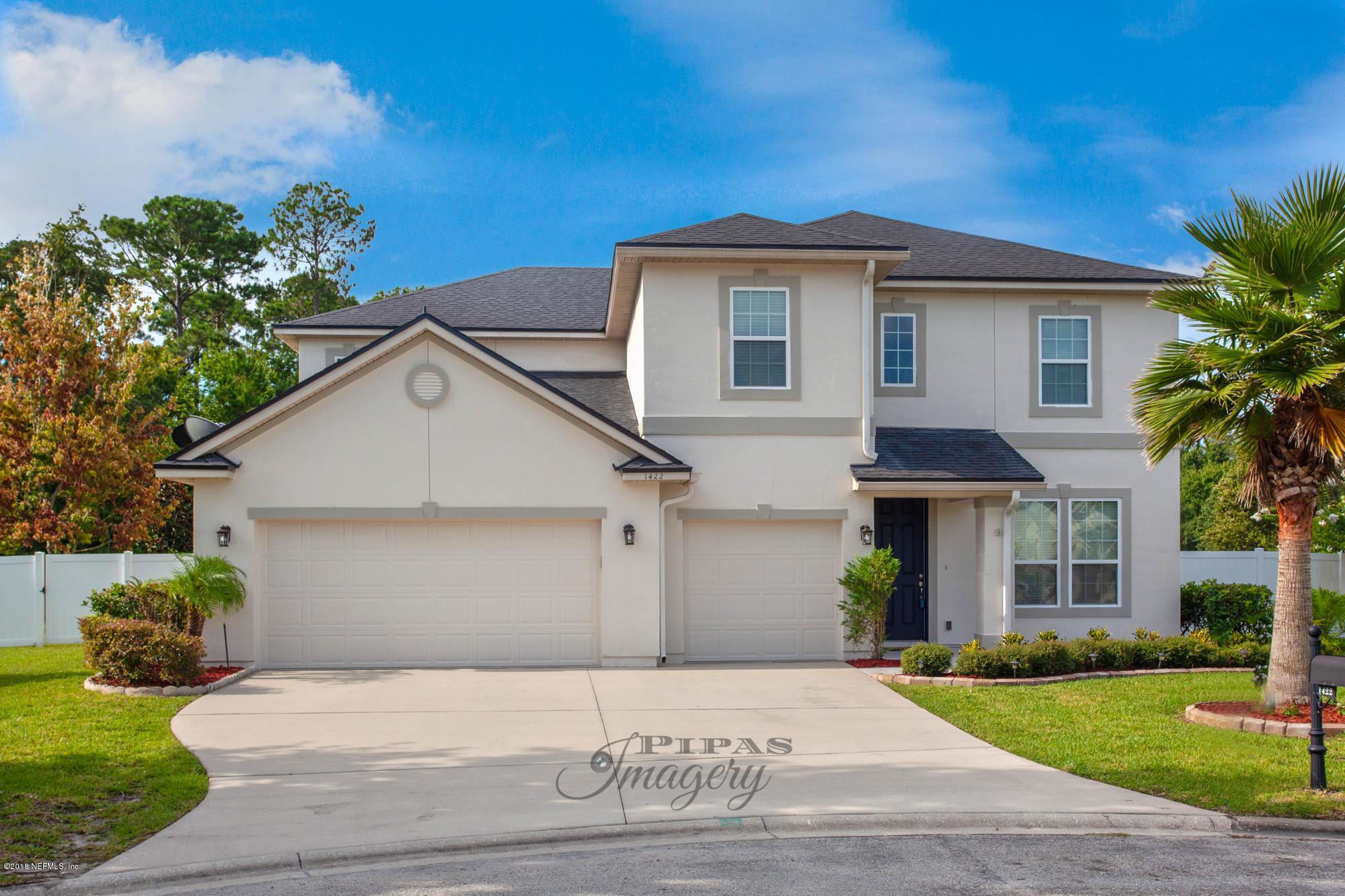 1422 TALON, FLEMING ISLAND, FLORIDA 32003, 5 Bedrooms Bedrooms, ,4 BathroomsBathrooms,Residential - single family,For sale,TALON,954991