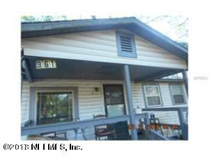 961 ODESSA, JACKSONVILLE, FLORIDA 32254, 3 Bedrooms Bedrooms, ,1 BathroomBathrooms,Residential - single family,For sale,ODESSA,955076