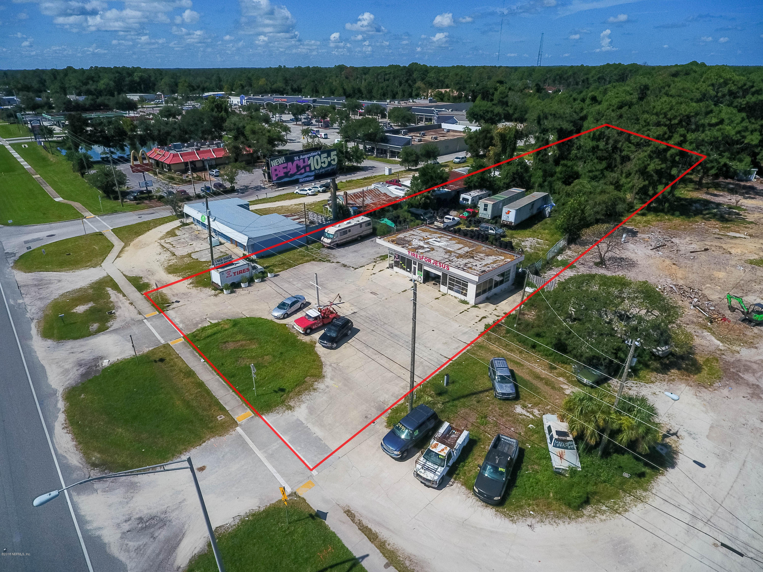 2405 US-1, ST AUGUSTINE, FLORIDA 32086, ,Commercial,For sale,US-1,955656