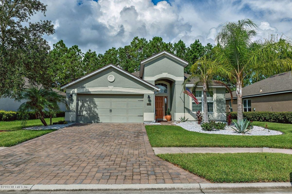 248 S ARABELLA WAY, Saint Johns in ST. JOHNS County, FL 32259 Home for Sale