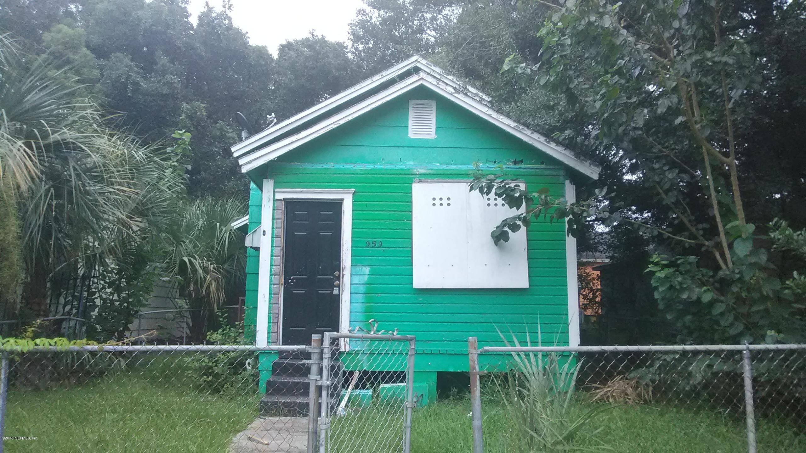 959 WASHINGTON, JACKSONVILLE, FLORIDA 32206, 2 Bedrooms Bedrooms, ,1 BathroomBathrooms,Commercial,For sale,WASHINGTON,955087